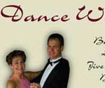 Newspaper ad design for Dance With Me Studio