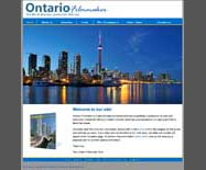 Website design for Ontario Filmmaker Directory