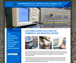 Website Design / Development for Diversified Electronics